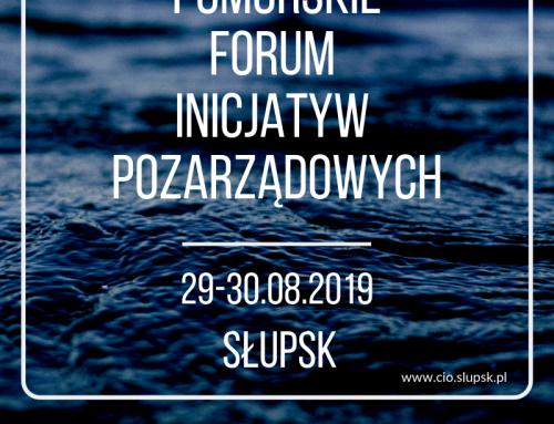 Pomorskie Forum Inicjatyw Pozarządowych